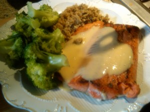 Citrus Beurre Blanc and Salmon