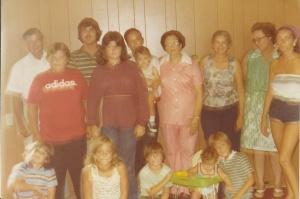 A 1976 family photo.